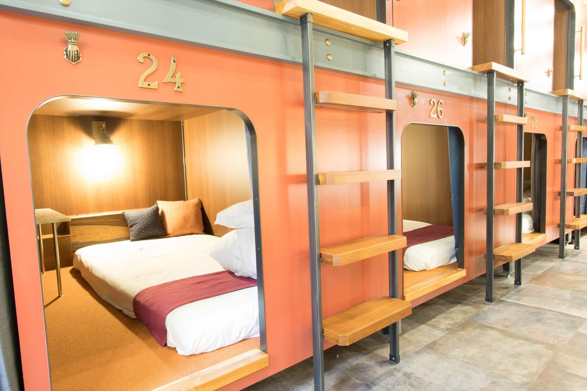 3㎡の広々ベッドルーム